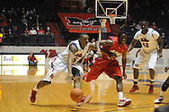 Ole Miss' Steadman Short (5)  vs. Dayton in Oxford, Miss. on Saturday, November 20, 2010. Dayton won in overtime.