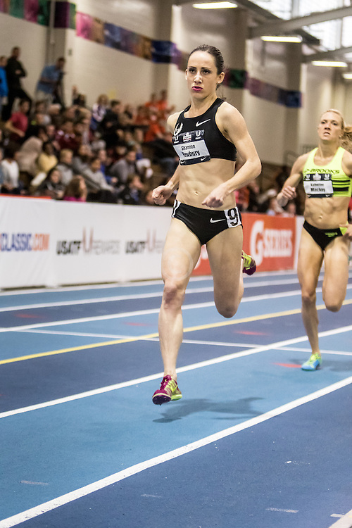 USATF Indoor Track & Field Championships:  women's Mile, Shannon Rowbury, Nike Oregon Project