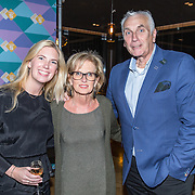 NLD/Amsterdam/20161120 - NPO Radio Ouvre Award 2016, Els Rietman, partner Mario van der Ende en ...........