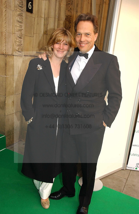 The EARL & COUNTESS OF MARCH at the NSPCC's Dream Auction held at The Royal Albert Hall, London on 9th May 2006.<br />