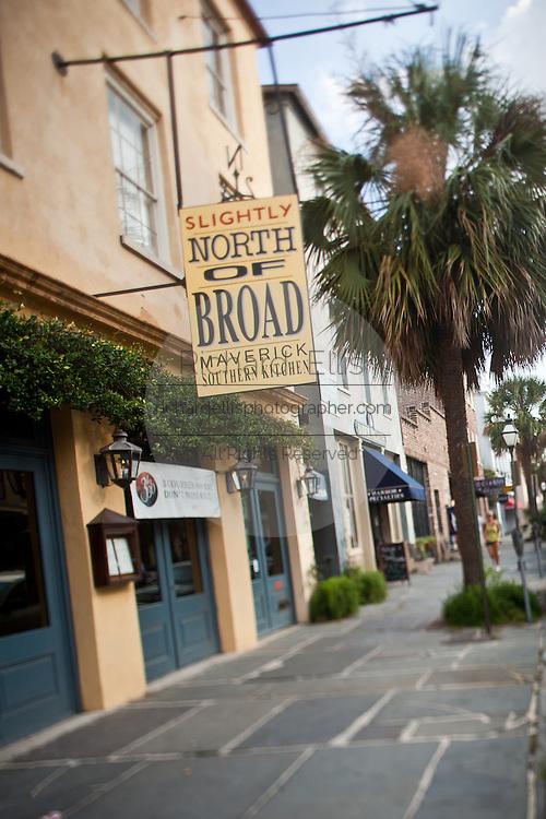 Restaurant Slightly North of Broad, SNOB,  in Charleston, SC.