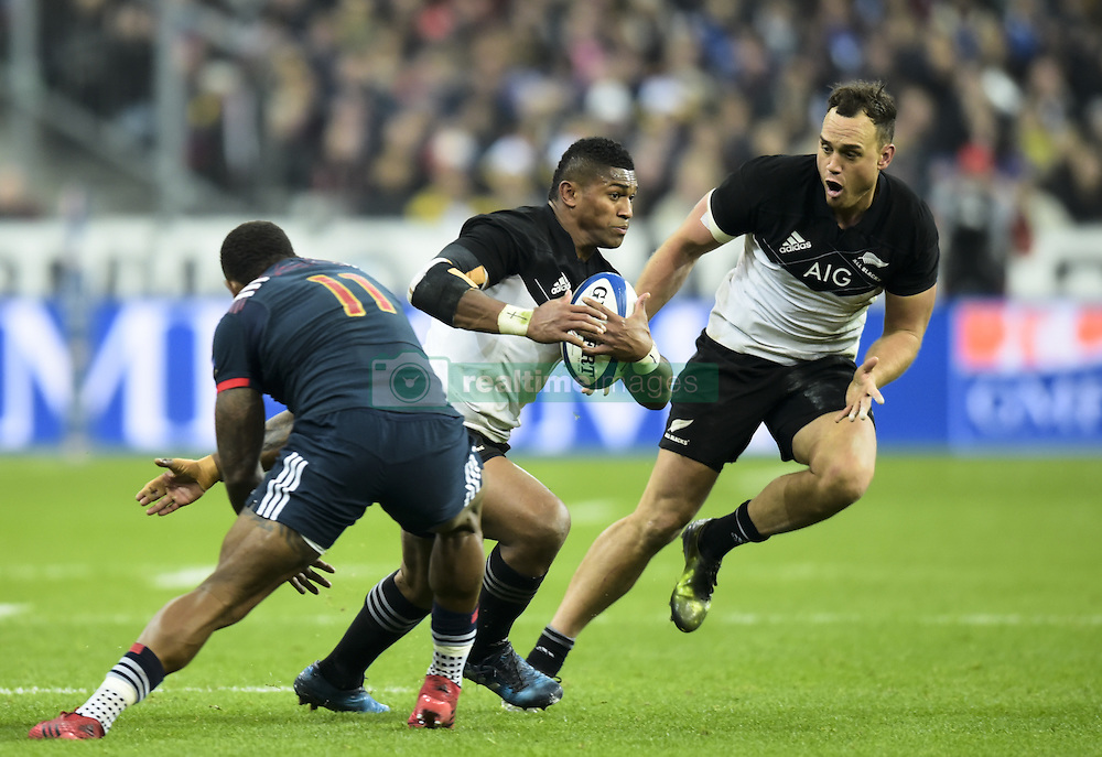 November 26, 2016 - Saint Denis, FRA - Waisake Naholo ( All Blacks ) - Virimi Vakatawa  (Credit Image: © Panoramic via ZUMA Press)
