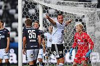 Fotball Menn Eliteserien Rosenborg-Viking<br /> Lerkendal Stadion,Trondheim<br /> 30 juli 2020<br /> <br /> Even Hovland jubler etter å ha gitt Rosenborg ledelsen 2-0<br /> <br /> <br /> <br /> <br /> Foto : Arve Johnsen, Digitalsport