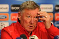 06.12.2011, Basel, Fussball Champions League - Training Manchester United, Chef-Trainer Alex Ferguson (Roman Aeschbach/EQ Images)