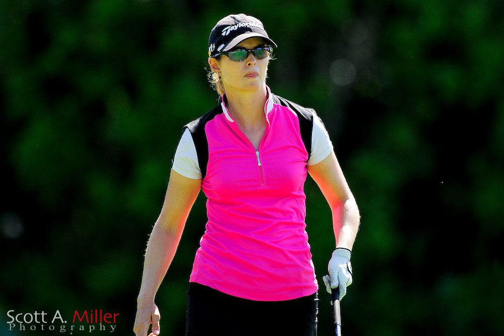 Katy Harris during the final round of the Symetra Tour's Guardian Retirement Championship at Sara Bay in Sarasota, Florida April 28, 2013. ..©2013 Scott A. Miller