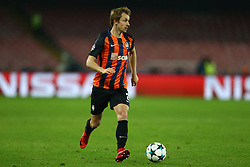 November 21, 2017 - Naples, Italy - Bohdan Butko of Shakhtar Donetsk at San Paolo Stadium in Naples, Italy on November 21, 2017, during  the UEFA Champions League Group F football match Napoli vs Shakhtar Donetsk on November 21, 2017 at the San Paolo stadium in Naples. (Credit Image: © Matteo Ciambelli/NurPhoto via ZUMA Press)