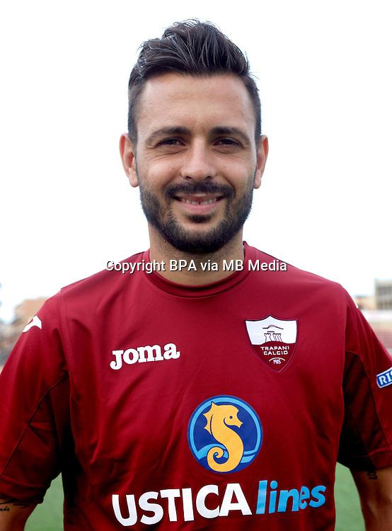Italian League Serie B_2015-2016 / <br /> ( Trapani Calcio 1905 ) -  <br /> Antonino Dai