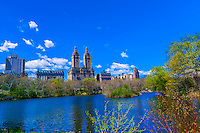 Lake in Central Park, New York, New York USA.