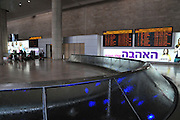 Israel, Ben-Gurion international Airport, Arrival Hall