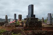 Japanese cemetary, Wailua, Kauai, Hawaii