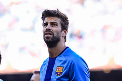 March 30, 2019 - Barcelona, BARCELONA, Spain - 03 Gerard Pique of FC Barcelona during the ''Derby'' of La Liga match between FC Barcelona and RCD Espanyol in Camp Nou Stadium in Barcelona 30 of March of 2019, Spain. (Credit Image: © AFP7 via ZUMA Wire)