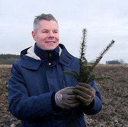 **All images embargoed until 00:01 6 February**<br /> <br /> Derek Mackay Tree Planting, 5 February 2020<br /> <br /> Finance Secretary Derek Mackay visited Thornton Wood near Kelty in Fife ahead of publishing the Scottish Budget on Thursday 6 February. <br /> <br /> Tackling the global climate emergency will be at the heart of this week's Budget.<br /> <br /> During the visit, Mr Mackay planted a tree as part of the Scottish Government's commitment to support forestry creation through planting 12,000 hectares of woodland this year. This will be supported by an additional £5 million investment.<br /> <br /> The site is run by Forestry and Land Scotland, and is a former opencast mining site which is now being restored to forestry.<br /> <br /> Pictured: Finance Secretary Derek Mackay <br /> <br /> Alex Todd | Edinburgh Elite media