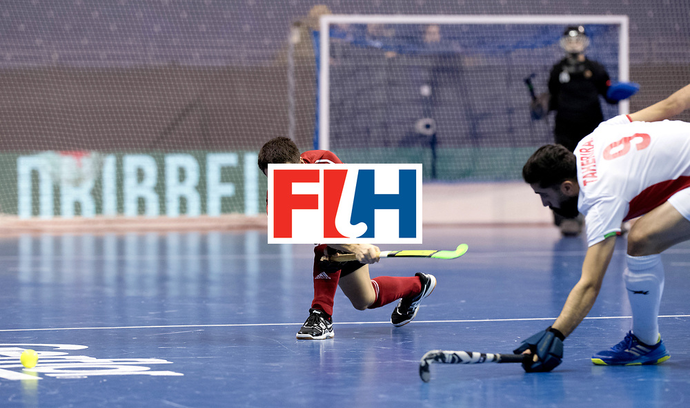 BERLIN - Indoor Hockey World Cup<br /> Men: Iran - Russia<br /> foto: VAKHMISTROV Evgeny.<br /> WORLDSPORTPICS COPYRIGHT FRANK UIJLENBROEK
