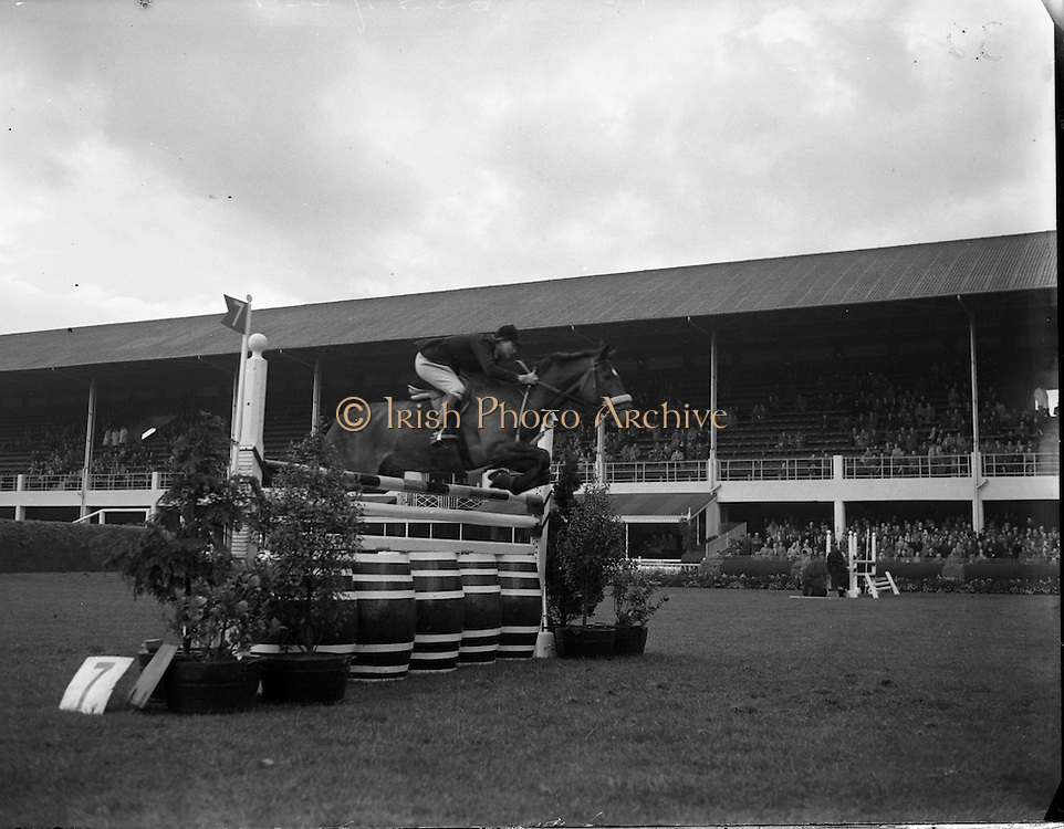 RDS Spring Show at Show Grounds, Ballsbridge, Dublin.04/05/1954