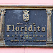 The history filled El Floridita, home to the famous daiquiri and frequented by Ernest Hemingway among other well known international and local celebrities. The bar is a must stop by visitors to Cuba, located in La Habana Vieja or Old Havana on the famous Calle Obispo.<br />