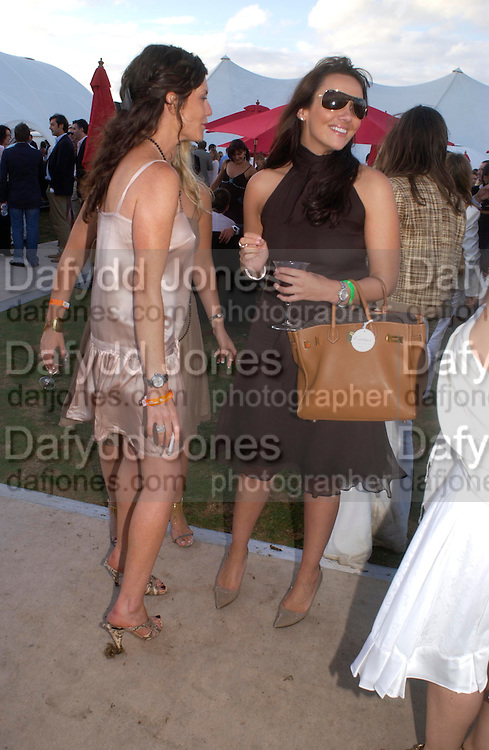 Martine McCutcheon, Chinawhite tent. . Cartier International Day at Guards Polo Club, Windsor Great Park. July 24, 2005. ONE TIME USE ONLY - DO NOT ARCHIVE  © Copyright Photograph by Dafydd Jones 66 Stockwell Park Rd. London SW9 0DA Tel 020 7733 0108 www.dafjones.com