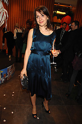 HADLEY FREEMAN at a party hosted by Mulberry to celebrate the publication of The Meaning of Sunglasses by Hadley Freeman held at Mulberry 41-42 New Bond Street, London on 14th February 2008.<br />