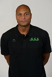 22-10-2014 NED: Selectie SSS seizoen 2014-2015, Barneveld<br /> Topvolleybal SSS Barneveld klaar voor het nieuwe seizoen 2014-2015 / Trainer Coach Albert Cristina