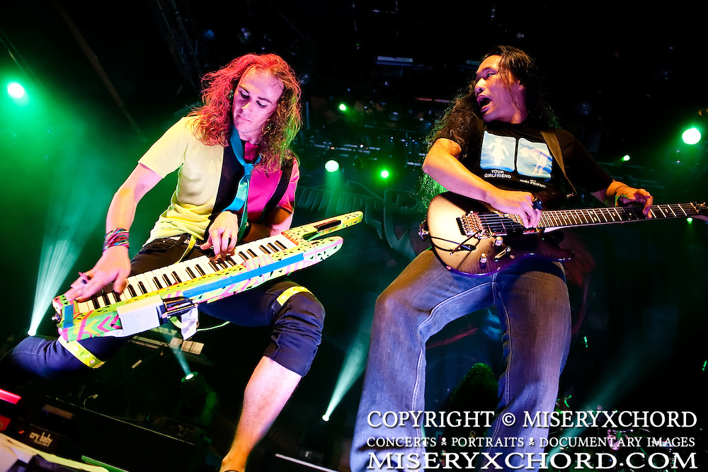 """Dragonforce performs on the final leg of their Ultra Beatdown North South American Tour in support of their latest album """"Ultra Beatdown"""" at The House of Blues Sunset Strip in West Hollywood, California USA on September 18, 2009."""