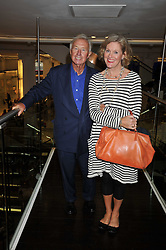 SIR TERENCE & LADY CONRAN at the launch of Tom Parker Bowles's new book 'Full English' held in the Gallery Restaurant, Selfridges, Oxford Street, London on 9th September 2009.