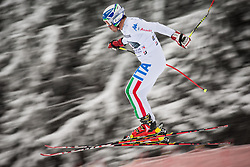 21.02.2013, Kandahar, Garmisch Partenkirchen, AUT, FIS Weltcup Ski Alpin, Abfahrt, Herren, 1. Training, im Bild Peter Fill (ITA) // Peter Fill of Italy in action during 1st practice of the  mens Downhill of the FIS Ski Alpine World Cup at the Kandahar course, Garmisch Partenkirchen, Germany on 2013/02/21. EXPA Pictures © 2013, PhotoCredit: EXPA/ Johann Groder