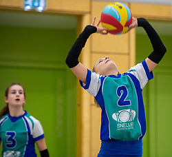 31-03-2019 NED: Final D Volleybaldirect Open, Wognum<br /> 16 teams of girls and boys D competed for the Dutch Open Championship / Flamingo's '56	vs. Dros-Alterno