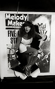 Kate Bush Melody Maker cover session 1980