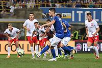 Gol su rigore di Jorginho Italy. Goal celebrations.<br /> Bologna 07-09-2018 <br /> Football Calcio Uefa Nations League <br /> Italia - Polonia / Italy - Poland <br /> Foto Andrea Staccioli / Insidefoto
