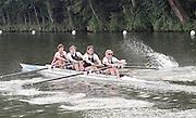 "Henley on Thames. Henley. GREAT BRITAIN;  <br /> Women's Four. Composite Crew, No. 2. Gillian LINDSAY and Stroke Lisa EYRE. 1995 Women's Henley Regatta. Henley Reach. River Thames.<br /> <br /> [Mandatory Credit; ""Photo, Peter Spurrier/Intersport-images]"