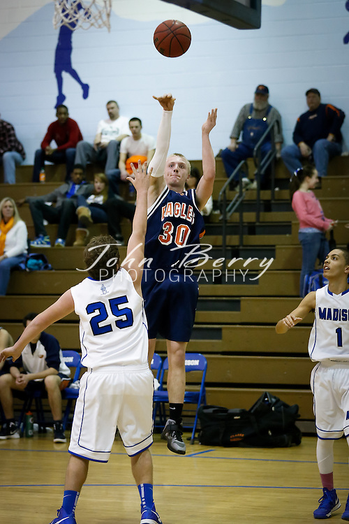 February/5/13:  MCHS Varsity Boys Basketball vs Clarke Eagles.  Madison loses to Clarke 69-59.