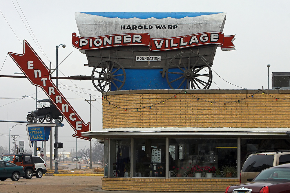 Claimed as Nebraska's #1 Tourist Attraction, Harold Warp's Pioneer Village in Minden is several buildings filled with vintage items, from cars to pioneer artifacts.