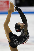 Karen Chen performs during the ladies free skate competition at the U.S. Figure Skating Championships Saturday, Jan. 21, 2017, in Kansas City, Mo. (AP Photo/Colin E. Braley)