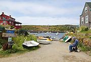 Vacation trip to Monhegan Island