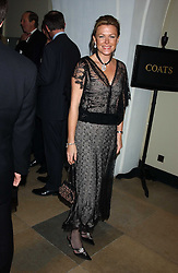 EIMEAR MONTGOMERIE at a dinner attended by the Conservative leader Michael Howard and David Davis and David Cameron held at the Banqueting Hall, Whitehall, London on 29th November 2005.<br /><br />NON EXCLUSIVE - WORLD RIGHTS