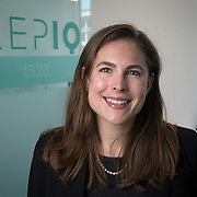 Stephanie St. Clair in the REPIQ office Friday July 21, 2017. More/Konstantaras Photography Founded in 2016 by Shawn Carpenter, a serial entrepreneur, and Jonathan Suchland, a former Amazon software development manager, Chicago-based RepIQ crawls the internet to create a database of more than 1 million companies salespeople can tap into, then suggests the best leads to reps.