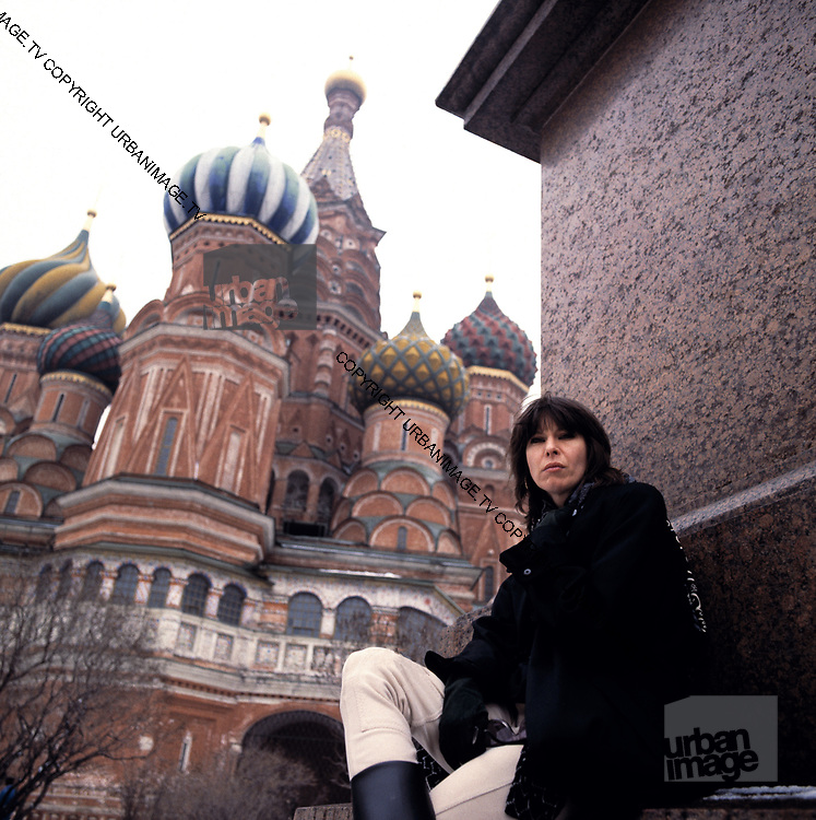Chrissie Hynde in Moscow 1989