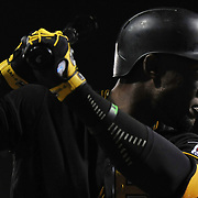 Pittsburgh Pirates against the Milwaukee Brewers at PNC Park in Pittsburgh, PA on April 17, 2015. PGH Pirates/Shelley Lipton