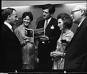 1970 - Castles,Houses and Gardens book launch.    D478.