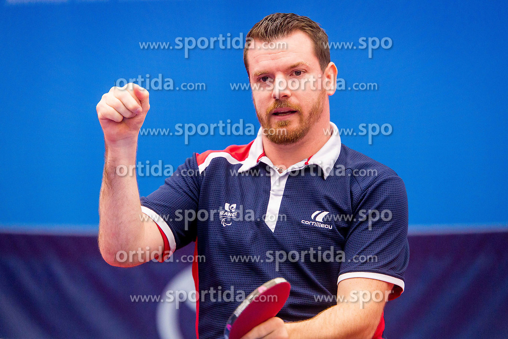 MERRIEN Florian during day 3 of 15th EPINT tournament - European Table Tennis Championships for the Disabled 2017, at Arena Tri Lilije, Lasko, Slovenia, on September 30, 2017. Photo by Ziga Zupan / Sportida