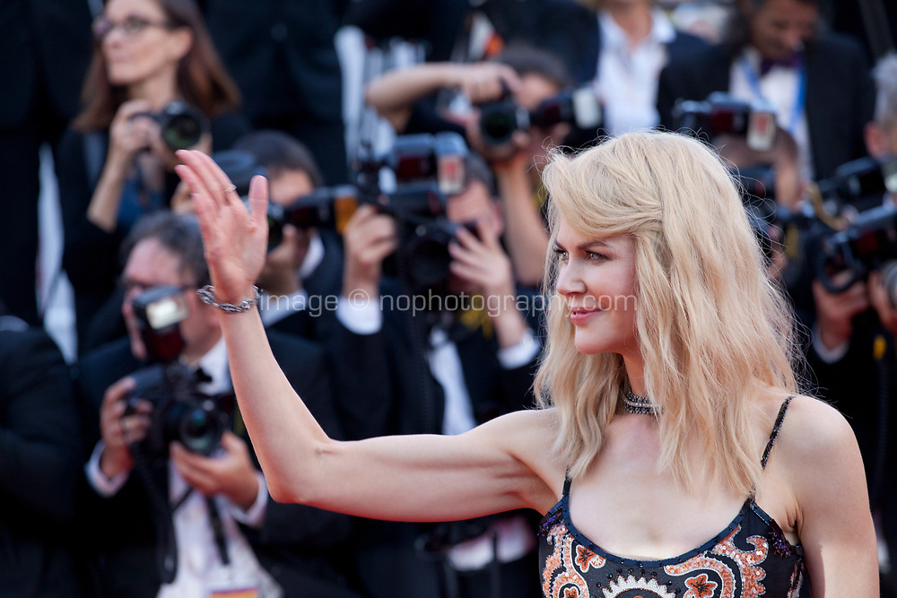 Nicole Kidman at the 70th Anniversary Ceremony arrivals at the 70th Cannes Film Festival Tuesday 23rd May 2017, Cannes, France. Photo credit: Doreen Kennedy