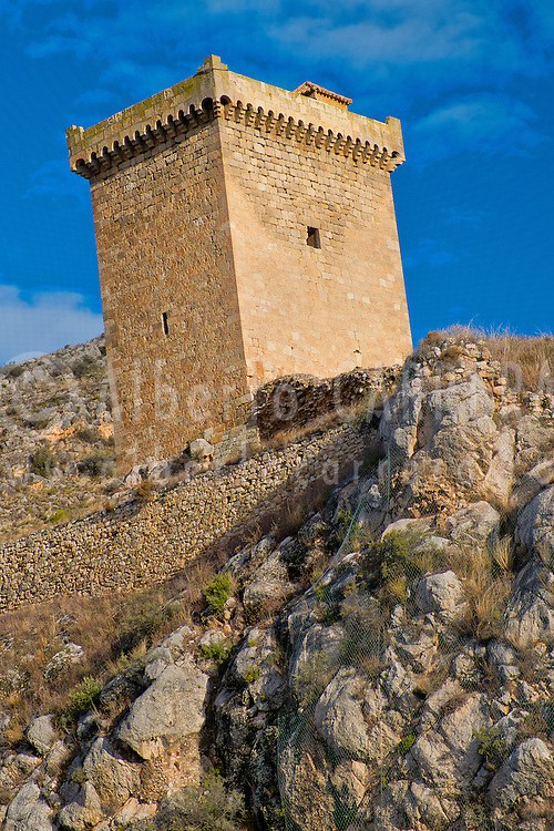 Alberto Carrera, Tower Castle, Alhama de Aragón, Zaragoza, Aragón, Spain, Europe