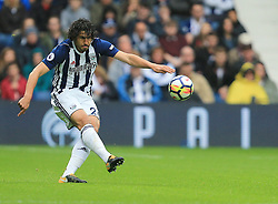 Ahmed Hegazy of West Bromwich Albion - Mandatory by-line: Paul Roberts/JMP - 16/09/2017 - FOOTBALL - The Hawthorns - West Bromwich, England - West Bromwich Albion v West Ham United - Premier League