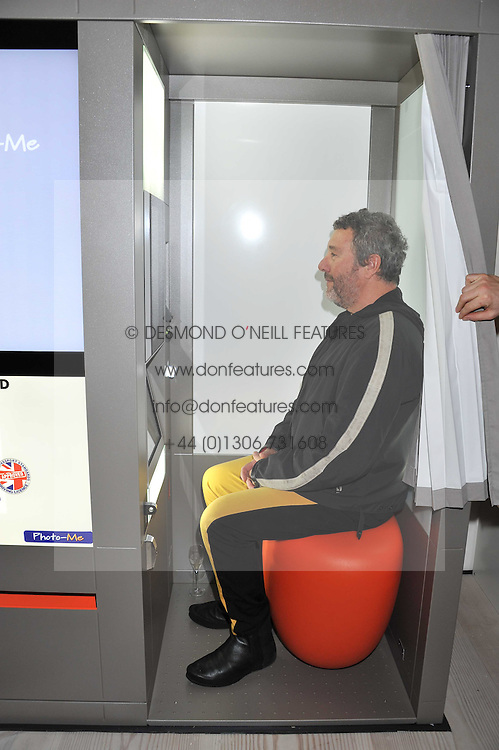 "PHILIPPE STARCK at the launch of ""Photo-Me by Starck"" – a photobooth exclusively designed by the world renowned artist and creator Philippe Starck held at The Saatchi Gallery, Duke Of York Square, Kings Road, London on 2nd November 2011."