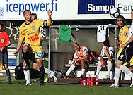 18.07.2009, Tehtaankentt?, Valkeakoski, Finland..Veikkausliiga 2009 - Finnish League 2009.FC Haka Valkeakoski - Vaasan Palloseura.Tero Koskela - VPS.©Juha Tamminen...