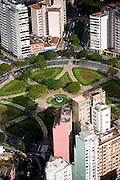 Belo Horizonte_MG, Brasil...Imagem aerea da Praca Raul Soares em Belo Horizonte...The aerial view of the Raul Soares square at Belo Horizonte...Foto: BRUNO MAGALHAES / NITRO