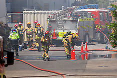 Auckland-Large callout to factory fire in Te Atatu