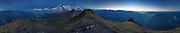 360° Panorama Männlichen blue hour