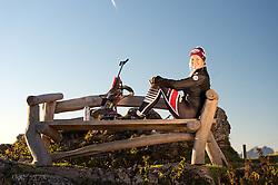 16.10.2016, Kitzbüheler Horn, Kitzbühel, AUT, Lisa Theresa Hauser im Portrait, im Bild die Österreichische Biathletin Lisa Theresa Hauser während eines exklusiven Fotoshootings // the Austrian Biathlete Lisa Theresa Hauser during an exclusive Photoshooting at the Kitzbüheler Horn, Kitzbuehel, Austria on 2016/10/16. EXPA Pictures © 2017, PhotoCredit: EXPA/ Stefan Adelsberger