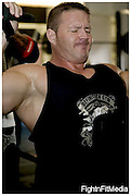 Dave Titterton..2009 Mr Universe, class 1 winner..Definition Gym. Peterborough. 3-9-10.