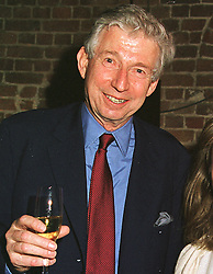 MR TORQUIL NORMAN the toy manufacturing multi-millionaire and head of the Roundhouse Theatre, at a reception in London on 16th March 1999.MPI 12 mo